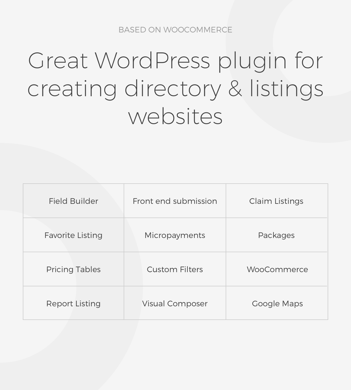Listing Manager - WordPress Directory Plugin 5