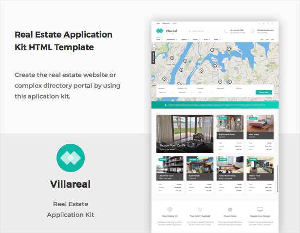 Villareal - Real Estate Application Kit